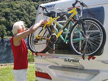 Bagmonteret Cykelholder