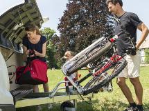 Frontmonteret Cykelholder