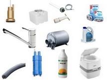 Vand- og sanitet artikler