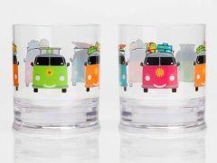 Vandglas med - Biler