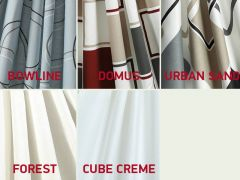 Isabella Gardinsæt Standard, Cube Creme