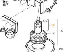 Truma Motor 12 V - DC 12V - TEB3