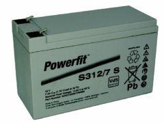 Batteri AGM Powerfit 7A