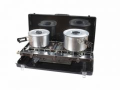Kampa Alfresco Double Hob & Grill