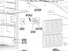 Låsepal Dometic køleskab