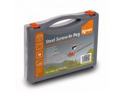Kampa Steel Screw Peg Pack