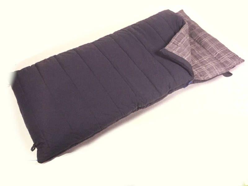 Tidssvarende Kampa Constance XL sovepose | Køb sovepose i bomuld på cfhorsens TU-99