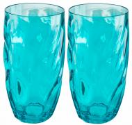 Flamefield Glas Ice Tall Tumbler Aqua