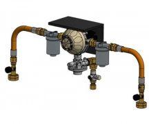 ITG Auotmatisk Flaskeomskifter med gasfilter