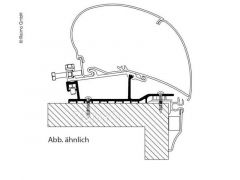 Thule Roof Adapter Hobby
