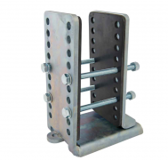 Camper Trolley universal closed frame bracket