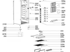 Låsepal Dometic køleskab RML9430