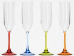 Champagne glass, 4 stk