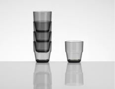 Flamefield stabelbare glas - 4 stk.