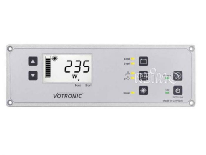 Votronic Solar-Computer med LCD-Kombipanel