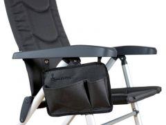 Isabella Sidelomme til stol - dark grey