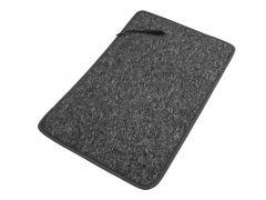 230 V gulvtæppe med varme antracit