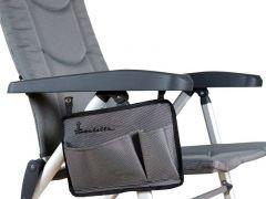 Isabella Sidelomme til stol - light grey