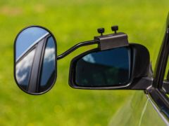 Emuk universal light caravanspejl sæt
