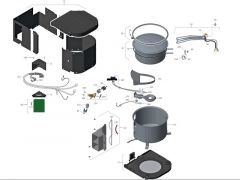 Reservedele Boiler gas/el (05/2016)
