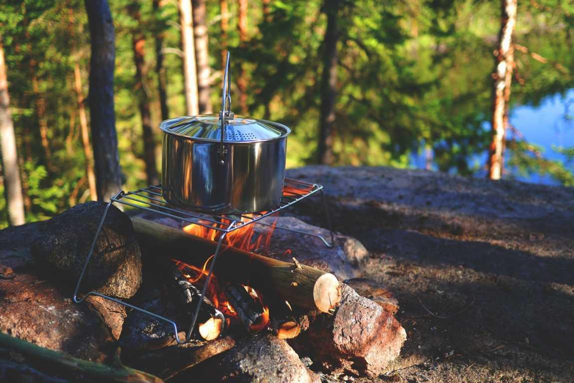 Camping bål