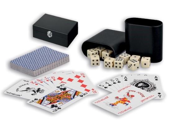 terningspil og kortspil