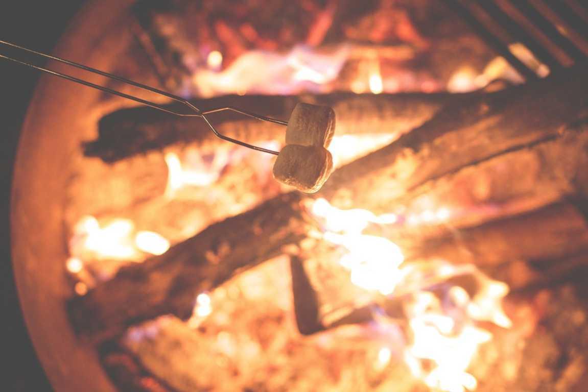 Camping bål i det fri